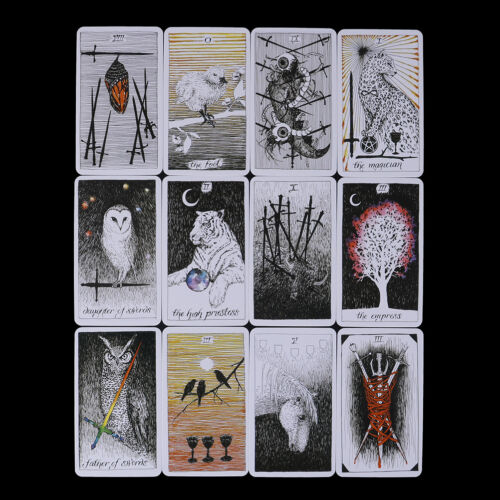 78pcs The Wild Unknown Tarot Deck Rider-Waite Oracle Set Fortune Telling Card PX - $8.46