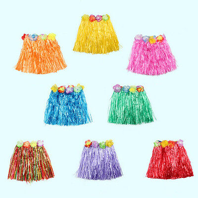 Hawaiian Grass Rock Flower Hula Kostüm für Erwachsene Summer Beach PartyJ & YAP
