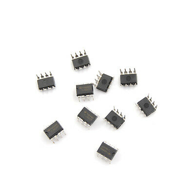 20pcs Tl082cp Ti Dip8 Ic Jfet-input Operational Amplifiers Nw
