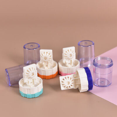 Clean Contact Lens Case (Latest New Plastic Manually Cleaning Lenses Case Contact Lens Cleaner Washer)