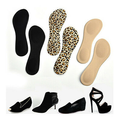 Heel Foot Cushion 3&4 Insole Shoe pad For Vogue Women Orthotic Arch Support NIUS ()
