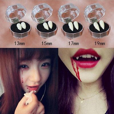 Bloodcurdling Vampire Werewolves Fangs Fake Dentures Teeth Costume Hallowee OJ - Werewolves Costumes