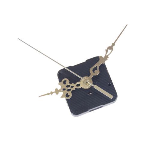 1set Quartz Clock Movement Mechanism Gold Hands Replace Repair Parts Hot Kit