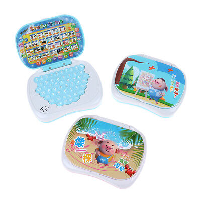 Baby Computer Kids Pre School Educational Learning Study Toy Laptop Game Gift_H