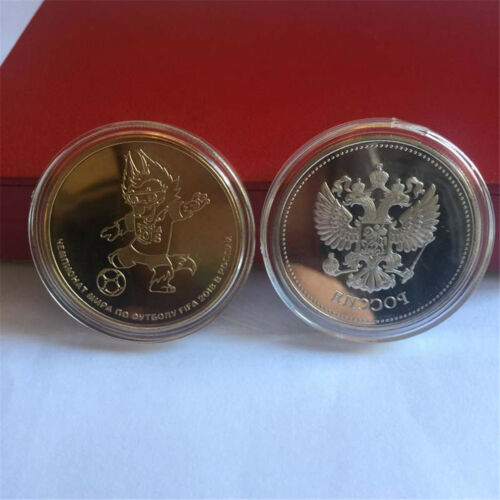Russian 2018 Football World Cup Commemorative Coin Football Collection CoinsXBUK