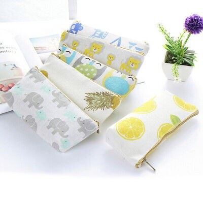 Learning Stationery Pencil Case Pencil Bag Gift Cartoon Animal Fruit Pencil - Animal Pencil Case
