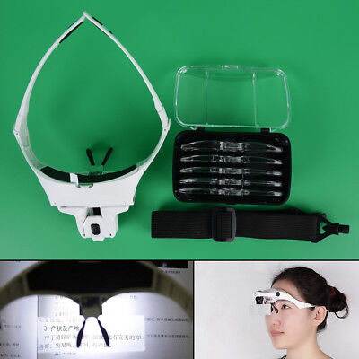 Headhand Led Lamp Light For Permanent Makeup Tattoo Supplies Microblading Pip HP
