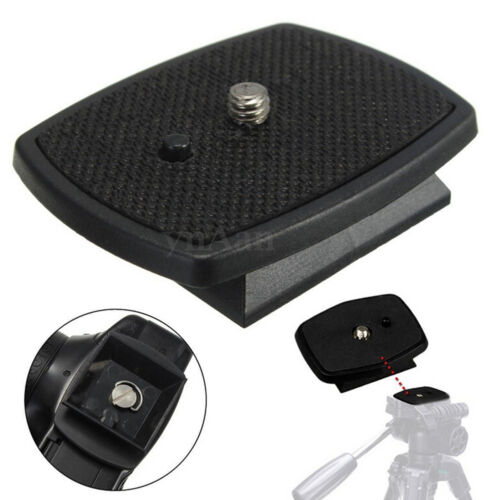 Tripod Quick Release Plate Screw Adapter Mount Head For DSLR SLR Camera PVV