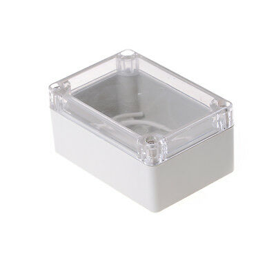 100x68x50mm Waterproof Cover Clear Electronic Project Box Enclosure Case Jkhwc
