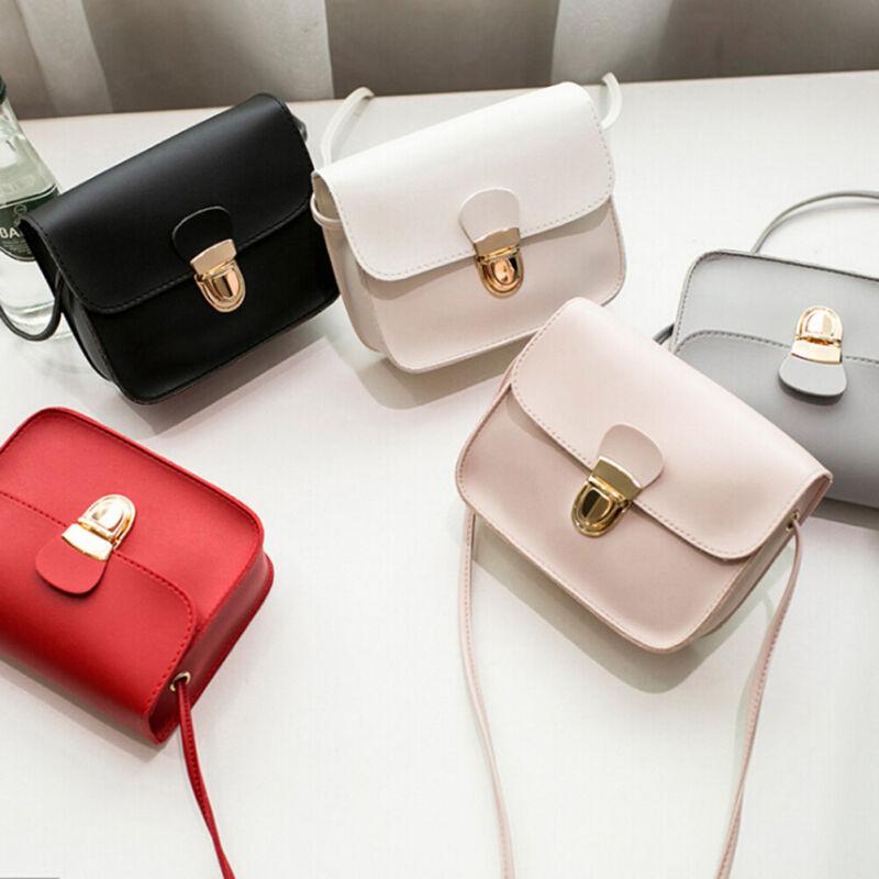 Mode Frauen kleine Handtasche Satchel Messenger Cross Body Schultertasche PuCRH