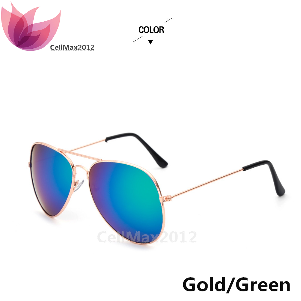 Gold / Green Lens