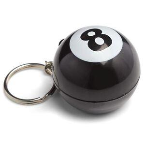 MAGICO-8-ball-portachiavi-Stile-Retro-completamente-funzionale-8-PALLA
