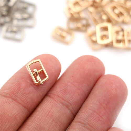 20pcs 3MM Diy Ultra-small Japanese Word Buckle For bjd blyth doll Clothes Sho Fp