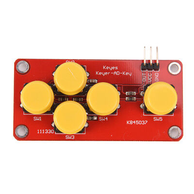Analog Button For Arduino Keyboard Electronic Blocks Simulate Five Key Module