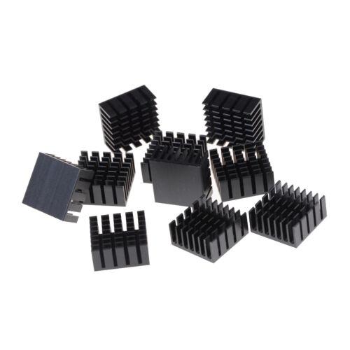10 Pcs 20x20x10mm Heat Sink Heatsinks Cooling Aluminum Radiator Sm TGG