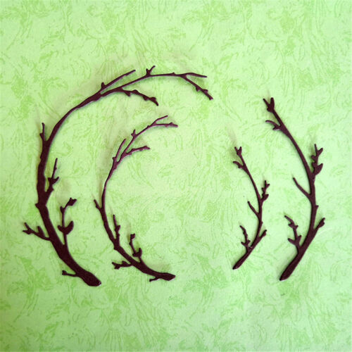 Tree Pole Design Metal Cutting Dies For DIY Scrapbooking Album Card TZ - $8.11