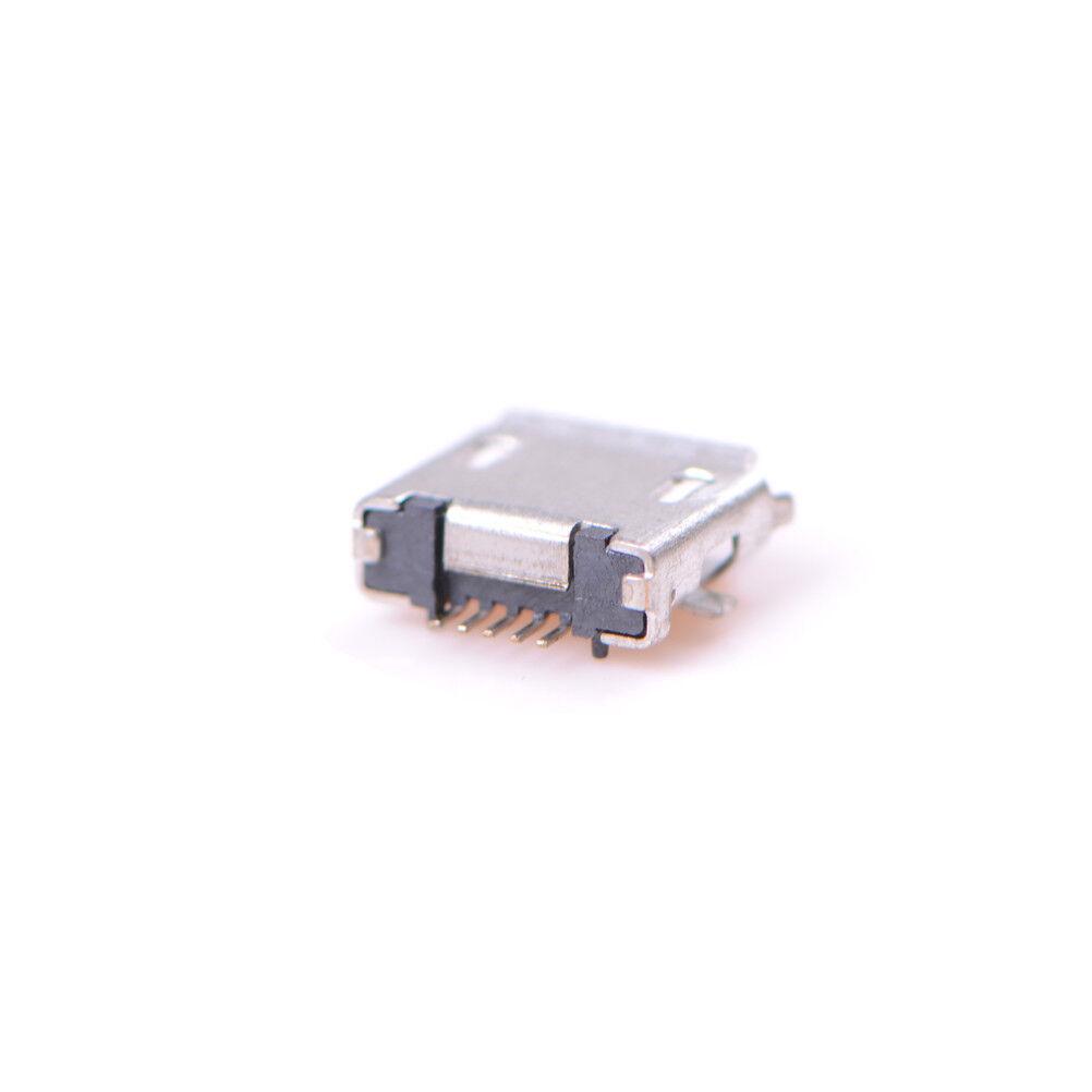 20pcs micro usb typ b buchse buchse 5 pin stecker smd. Black Bedroom Furniture Sets. Home Design Ideas