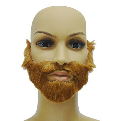 Cosplay/Costume Party Male Halloween Beard Facial Hair Disguise Brown - Male Halloween Costume