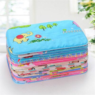 Baby Infant Waterproof Urine Mat Diaper Nappy Kids Bedding C