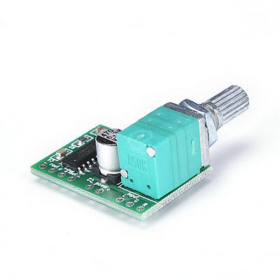Pop Mini 5V PAM8403 Audio Power Amplifier Board 2 Channel With Volume Control