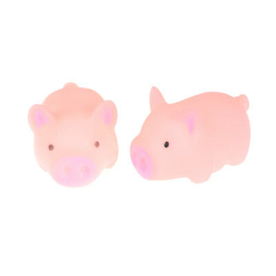 Funny Cute Anti Stress Pig Reliever Sound Animal Autism Mood Vent Squeeze ATCA