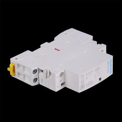 2P 25A 220V/230V 50/60HZ Din rail Household ac contactor DSUK