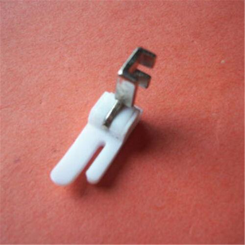 1pc Industrial Sewing Machine Flat Plastic Presser Foot Model US