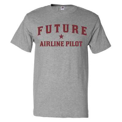 Future Airline Pilot T shirt Funny Airline Pilot (Future Airline)