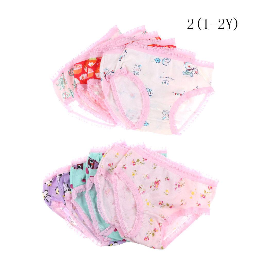 Fashion Cute Baby Girls Soft Cotton Underwear Panties Kids Underpants Cloth $T