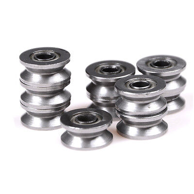 10pcs 624vv V Groove Sealed Ball Bearings Vgroove 4 X 13 X 6mm 22.5mm Deepevs
