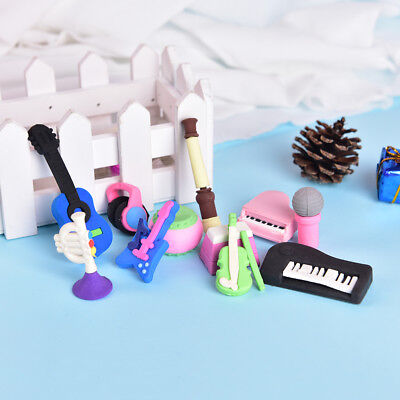 (Musical Instrument Rubber Eraser Student Stationery for Gift school supply SP)