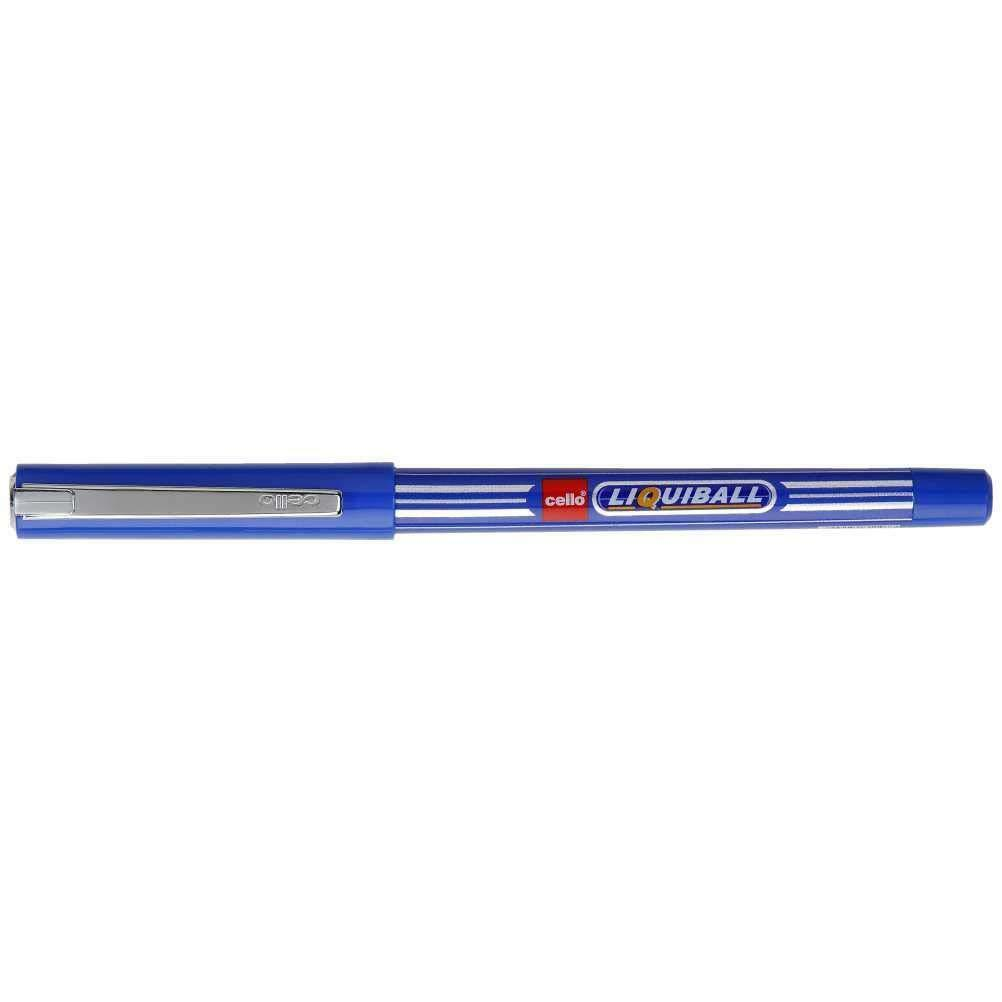 Cello Liquiball Pen Red Pack of 10 Pcs Fast Shipping