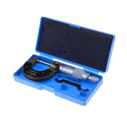 0-25mm Metric Micrometer With Metal