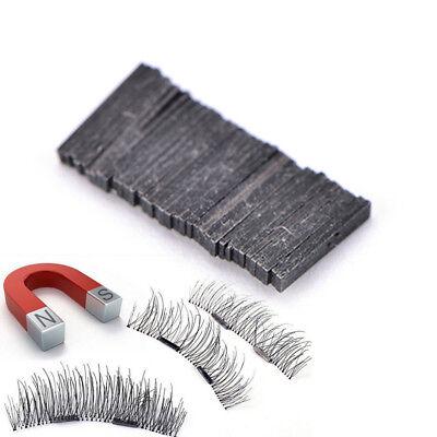 10X  Reusable Magnet Sheet For 3D Magnetic False Eyelashes Extension Handmade@#