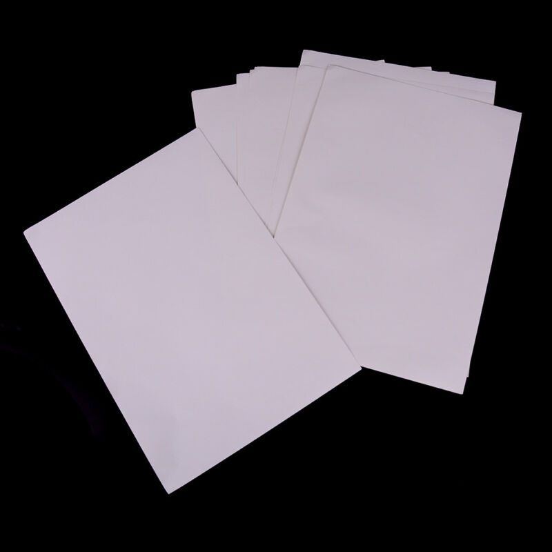 10sheets A4 Matt Printable White Self Adhesive Sticker Paper Iink For OfficeVE - $7.15