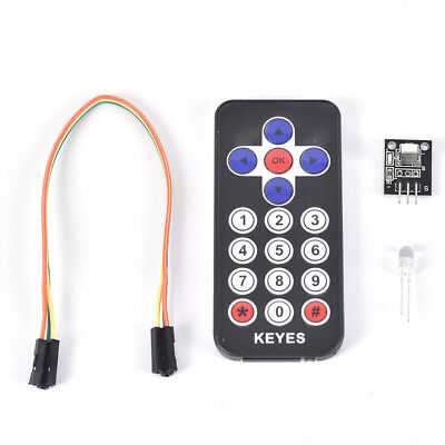 1pc Portable Infrared Ir Wireless Remote Control Module Kits For Arduino Fh