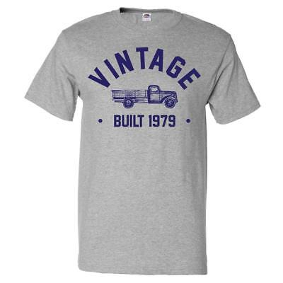 40th Birthday Gift T shirt 40 Years Old Present 1979 Truck Tee 40 Years Old T-shirt