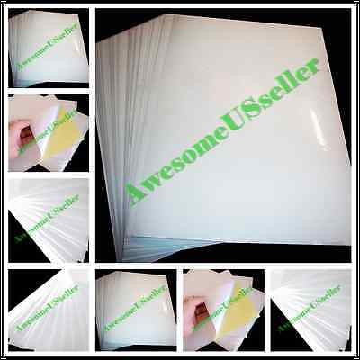 A4 White Self-adhesive Sticker Sticky New Tags Label Printing Paper Laser Glossy