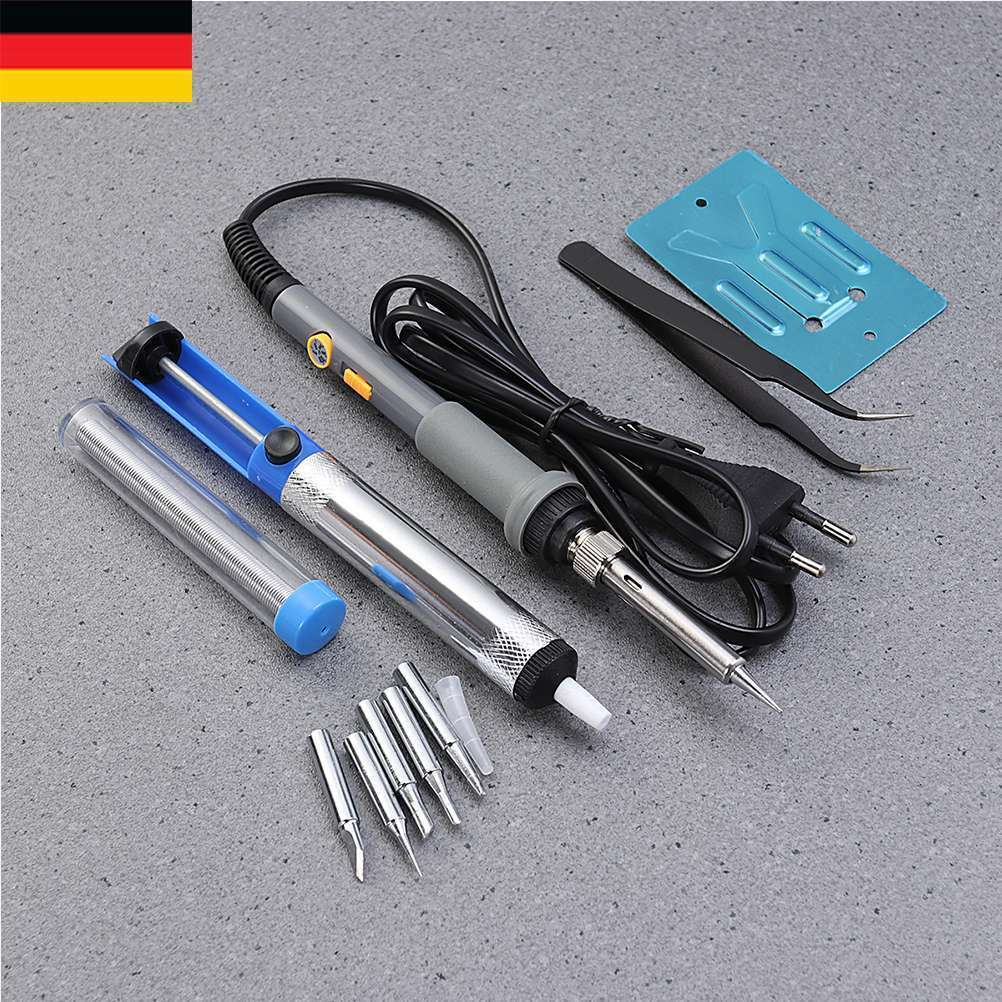 Lötkolben Set Lötstation Set Lötset Soldering Iron mit Einstellbare Lötstation