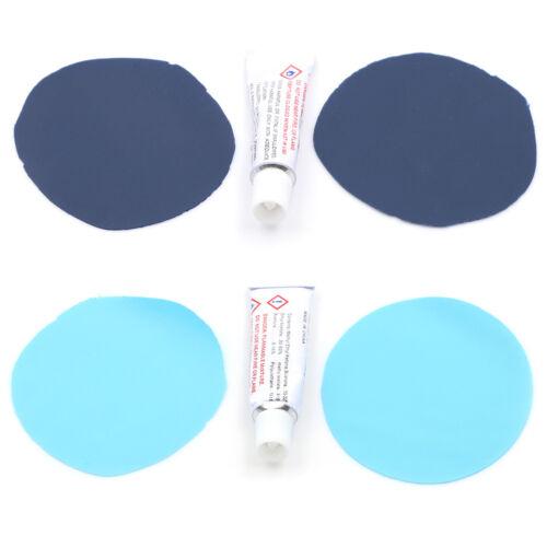 2 Set PVC Inflating Air Bed Boat Sofa Repair Kit Patches Glu