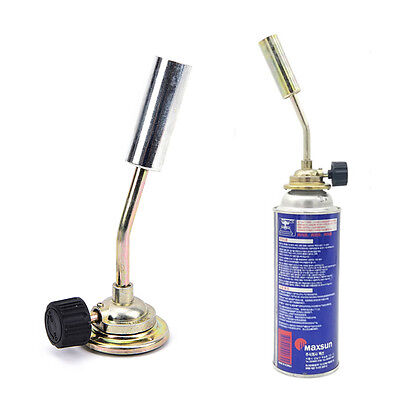 Gas jet flame burner gun fire lighter gas torch for outdoor picnic camping  H Fw