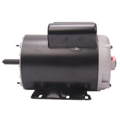 Compressor Duty Electric Motor 60 Hz 56 Frame Shaft 3450 Rpm 5 Hp 1 Phase 230v