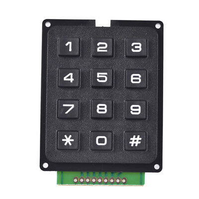 1pcs 4 X 3 Matrix Array 12 Keys 43 Switch Keypad Keyboard Module For Arduinowk