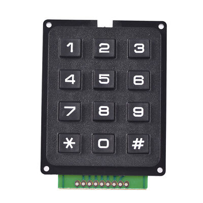 1pcs 4 X 3 Matrix Array 12 Keys 43 Switch Keypad Keyboard Module For Arduino Hw