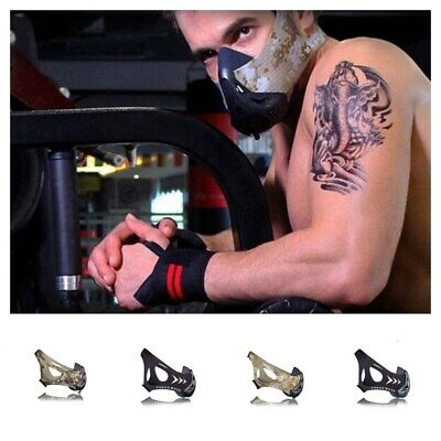 sports mask for oxygen blocking and oxygen