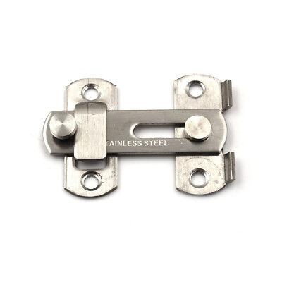 Stainless Steel Home Safety Gate Door Bolt Latch Slide Lock 20x50x70mm WD ()