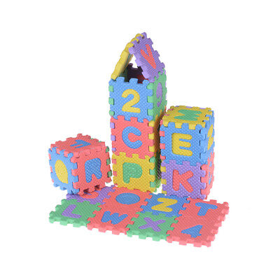 36 Pcs 4.5cm Environmentally Arabic Alphabet Language EVA Foam Play Puzzle Toy