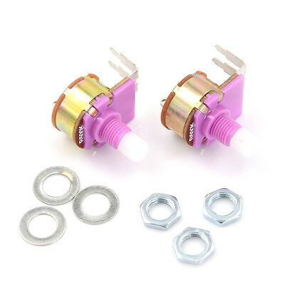 2pcs Wh149 With Switch Potentiometer Adjustable Resistance Component Ch