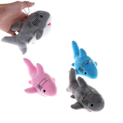 18cm Cute Shark Plush Toys Kawaii Pendant Keychain Stuffed A
