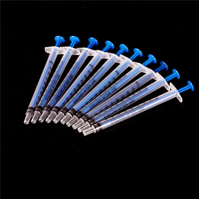 10pcs 1ml Nutrient Measuring Plastic Disposable Syringe Functional Medical